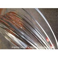 Wholesale High Tensile Flat Steel Wire For Weaving Mesh Light Weight OEM / ODM Available from china suppliers
