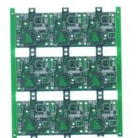 Buy cheap Immersion Gold 1 Layer FR4 Single Sided PCB Board 0.5 - 3oz Copper Thickness from wholesalers