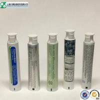 China Toothpaste Container Cosmetic Tube , Glossy Squeeze Aluminum Plastic Laminated Tube wholesale