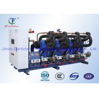 China Scroll Danfoss Condensing Unit , Reciprocating Refrigeration Compressor Unit wholesale