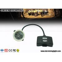 China GS5- B 8000 Lux / 5.6ah Led Mining Cap Lights , IP68 Miners Head Torch Drop Resistance wholesale