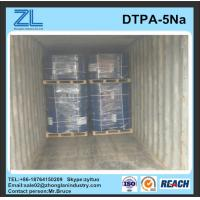 China Best price light yellow DTPA-5Na liquid wholesale
