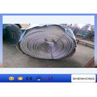 China Pilot Anti Twist Wire Rope , Galvanised Steel Wire Rope 130KN Breaking Load on sale