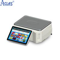 Quality Touch Screen Scale With High Quality,POS Scale,PC POS Scale,Cash Register Scale for sale