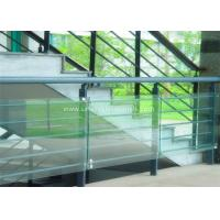 China Decorative Glass Railing Laminated Safety Glass Grey CE / CSI Approve wholesale