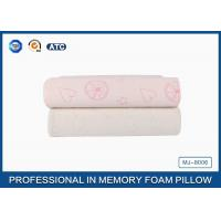 China Comfort Children Ventilated Contour Cloud Memory Foam Pillow , Health Cotton Cover Pillow wholesale