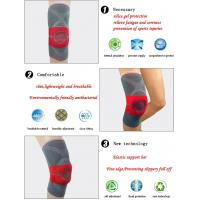 China Compression Full Knee Support Brace Sleeve Silicone Padded Pain Relief Gym Sport wholesale