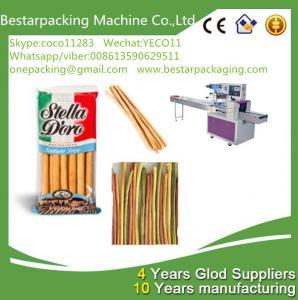 Quality Máquina empacadora Breadsticks, máquina empacadora de palitos, máquina de llenado de palitos de pan for sale