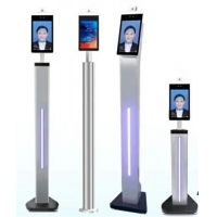 China 1280*800 Face Detection Thermal Floor Standing Temperature Scanner wholesale