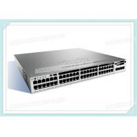 Buy cheap Cisco Ethernet Network Switch WS-C3850-48T-E Catalyst 3850 48x10/100/1000 Port from wholesalers