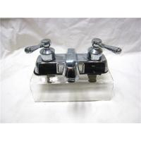 Buy cheap Stainless Steel 2 Handle Kitchen Sink Faucet With Pull Out Sprayer / One Faucet from wholesalers