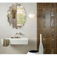China Large Custom Oval Bathroom Wall Mirrors Frameless 80% Float Glass wholesale