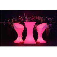 China Fireproof LED Sofa Waterproof Rechargeable 4 Flash Modes LED Cocktail Table wholesale