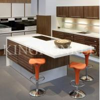 Hot sale white acrylic solid surface kitchen countertop