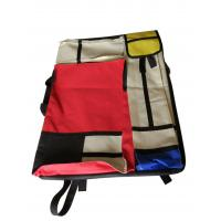 China 4K hand-held double-sided drawer bag stitching red and yellow blue multi-functional painting bag wholesale