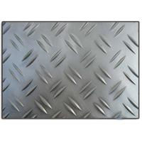 China 1100 H14 Aluminium Checkered Embossed Diamond Plate Bendable Length 1 - 10M wholesale