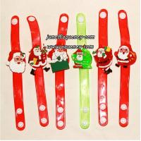 Buy 2014 Christmas gift for friends LED silicone wristband with factory price