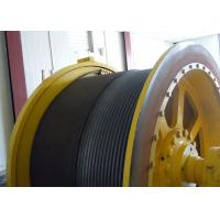 China Fixed / Moveable Electric Hoist Winch 720-960r/Min Speed For Underground Mining wholesale