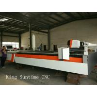 Multilayer Fabric Automatic Cloth Cutting Machine , Leather auto cutter machine