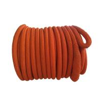 China Double Braided UHMWPE Fiber Rope 56mm X 220m Easy Handling Non Rotating wholesale