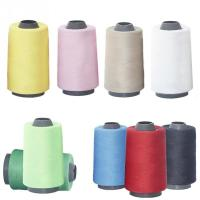 China 100% polyester 40s/2 5000 yards cone sewing thread for jeans,shoes,and leather products wholesale