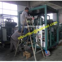 China Transformer Oil Separation Machine,Degasification,Dehydration Plant,Waste Oil  Processing Machine wholesale