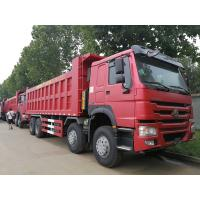 Buy cheap Sinotruk 12 Wheels Howo 8x4 Dump Truck Tipper 25M3 Front Lifting from wholesalers