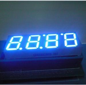 China Seven Segment Digital Clock Display With Black Face ColorLB40566IBH0B wholesale