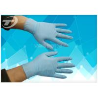 China Surgical Powder Free Latex Gloves , High Tensile Strength Nitrile Medical Gloves wholesale