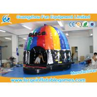 China 4mH 5m Dia Musical Inflatable Air Bouncer / Inflatable Dome Disco Jumping Area wholesale