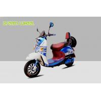 China Pedal Assisted Scooter 500W 60V Dc Hub Motor , Two Wheeled Moped Electric Scooter on sale