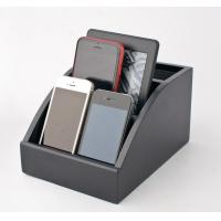 China Personalized Wooden Docking Station For Cell Phones With Hinged Rear Door wholesale