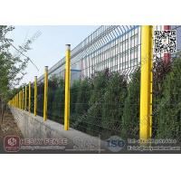 China Welded Mesh Panel Fencing PVC coating Green Color HeslyFence China wholesale