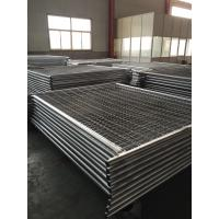 China 2.1mx2.4m Width Australia Melbourne OD 32mm X 1.35mm Tube Wall Thick Mesh 60mmx150mm Diameter 3.00mm Construction Fence wholesale