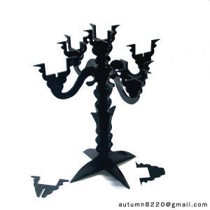 China CH (15) Modern clear acrylic candelabra wholesale