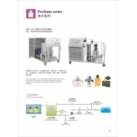 China Moveable Supporter Perfume Making Machine With Freezing Unit Simple Operation wholesale