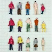1:100 Architectural Scale Model People Drawing Male Figure 1.8cm