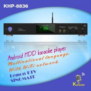 Multifunctional HD KTV karaoke machine with HDMI, Insert Coin,USB add songs