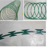 China CBT-65 concertina razor wire for protective fence  ( professional factory ) wholesale