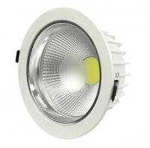 China 8 Inch COB High Brightness Epistar LED Recessed Downlights 50 Watt 7200K wholesale