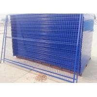 China Outdoor Temporary Security Galvanized Steel Fence Panels Round / Square Post wholesale