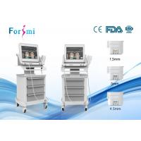 China Face lifting skin tightening best focused ultrasound on skin facial treatment on sale