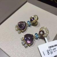 China Bvlgari  brand jewelry earring in 18 kt gold 18k gold jewelry wholesale