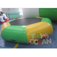 China 3M Green Business Inflatable Water Toys Trampoline For Children wholesale