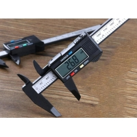 China Wholesale Digital Caliper With Screen 150 mm Micrometer Scale Ruler Auto Measuring Tools Vernier Accurate Instrument on sale