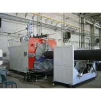 China PLC Control Plastic Production Line , HDPE Pipe Extruding Machine wholesale