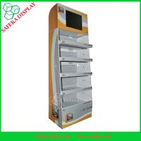 China Innovative Corrugated Paper Floor Display Flexible lcd display wholesale