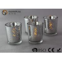 China Electroplate Finish Decorated Wine Bottles With Lights Inside WB-009 wholesale