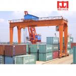China 20 ton RMG Crane Rail Mounted Container Gantry Crane Price wholesale
