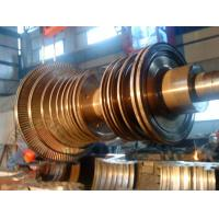 China Alloy Steel Steam Turbine Rotor Forging In Power Generation Equipment wholesale